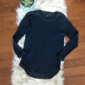 UO | Blue/ Teal Knit Pullover Sweater sz S